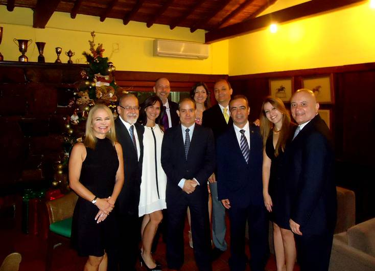 Junta Directiva  COCTEL 2015