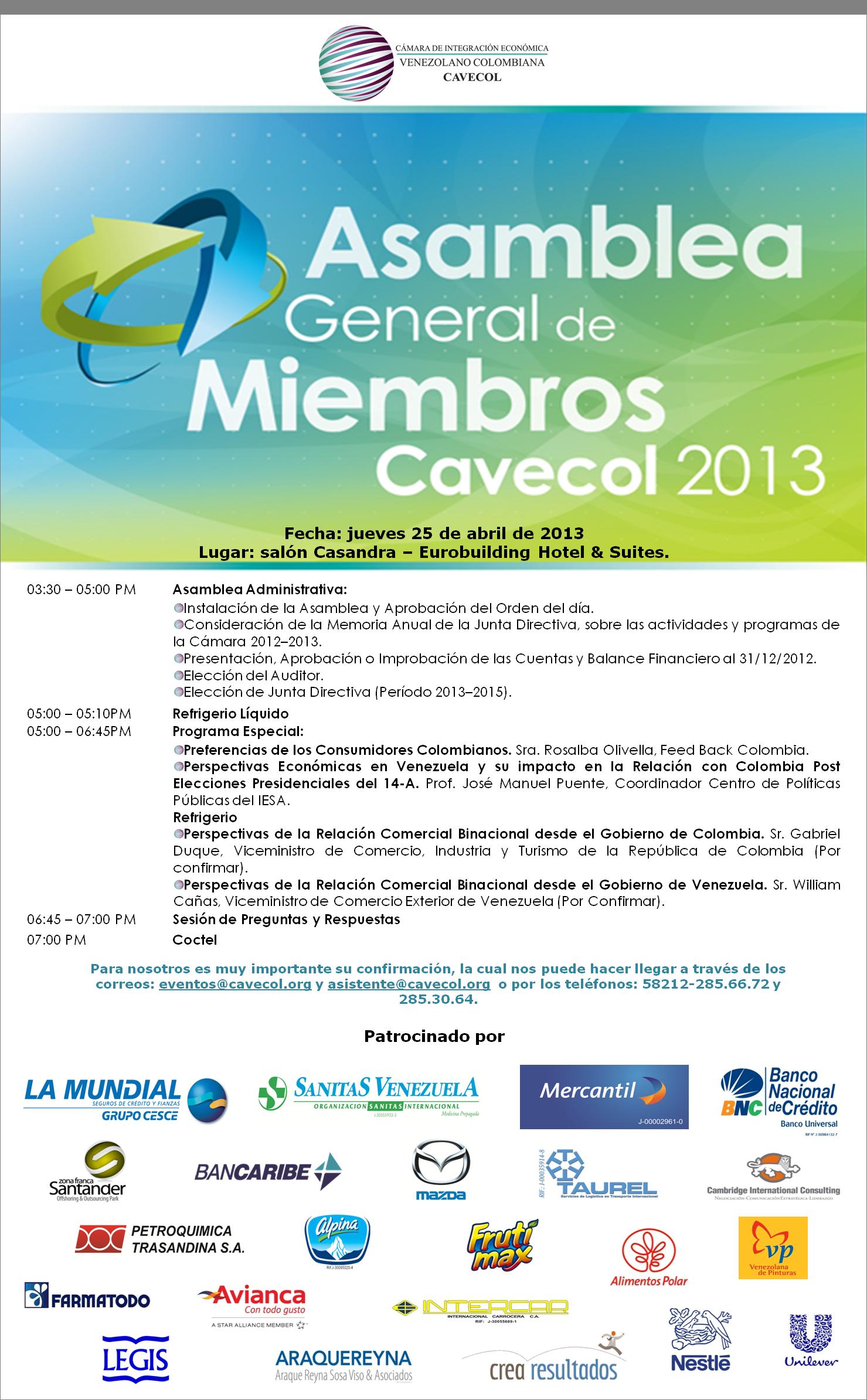 Inv Asamblea 2013
