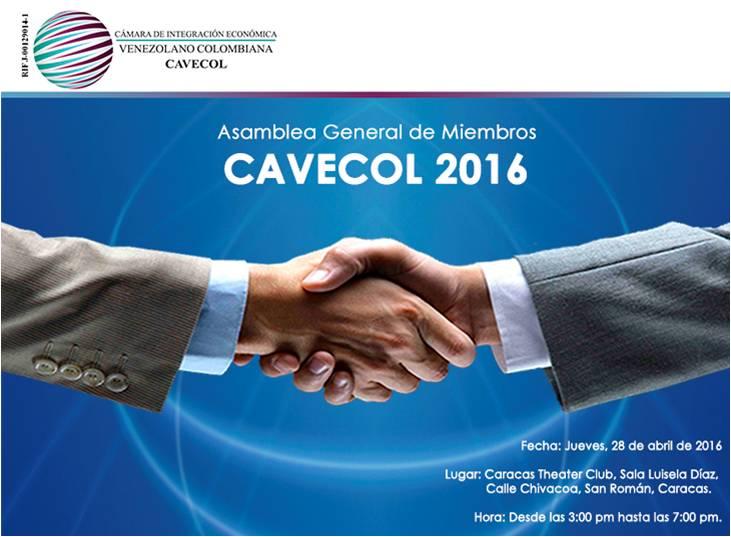 Post image for Asamblea General de Miembros CAVECOL 2016